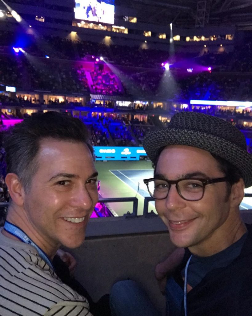 jim parsons with partner